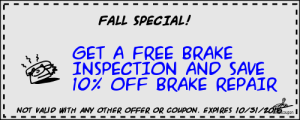 buildCoupon BRAKE REPAIR